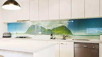glasposter k chenr ckwand aus glas. Black Bedroom Furniture Sets. Home Design Ideas